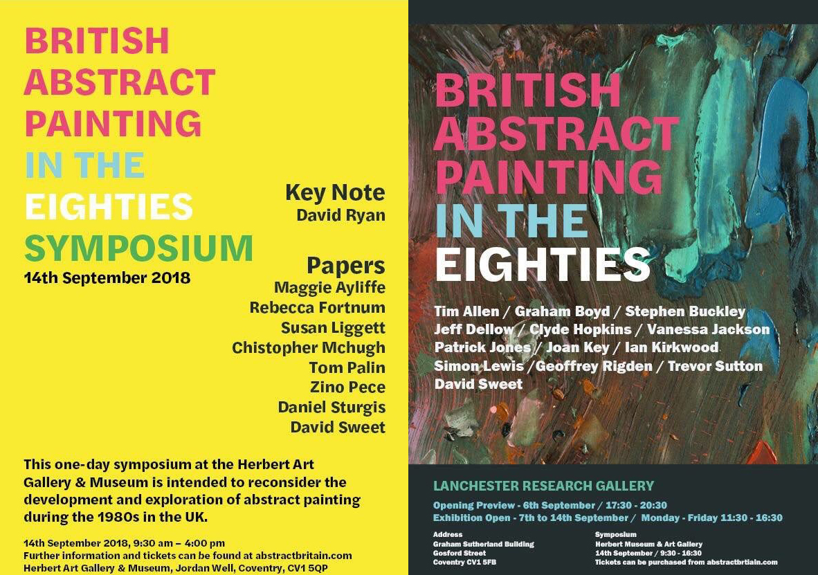 British Abstract Painting in the 1980S: A Symposium